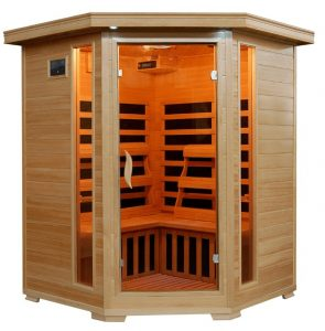 Best 3 person Corner Infrared Sauna