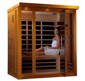 Dynamic Florence 3-person Low EMF Far Infrared Sauna