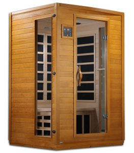 Dynamic Infrared Luxury 2-person IR carbon far infrared sauna