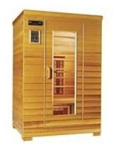 Health Mate 2-person Cedar Infrared Sauna