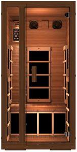 JNH Lifestyles 1-person Cedar Infrared Sauna