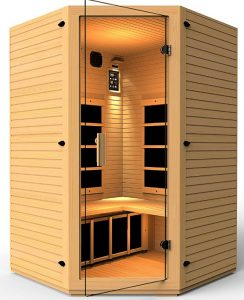 JNH Lifestyles 2-3-person Infrared Sauna for Home Use