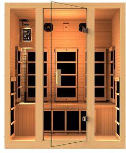 JNH Lifestyles 3-person Far Infrared Sauna