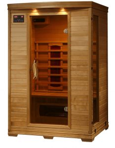 best 2 person ceramic dry sauna