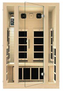 best 2 person dry sauna