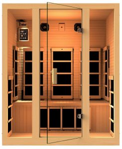 best 3 person Far Infrared Sauna