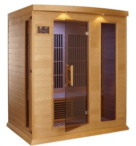 best 3 person Low EMF Far Infrared Sauna