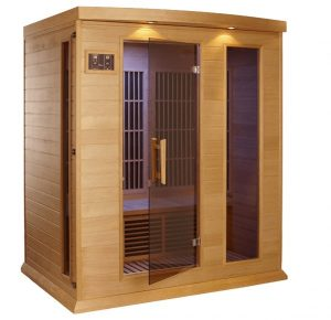 best 3 person home FAR infrared Sauna