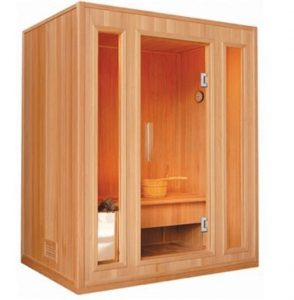 best 3 person traditional sauna