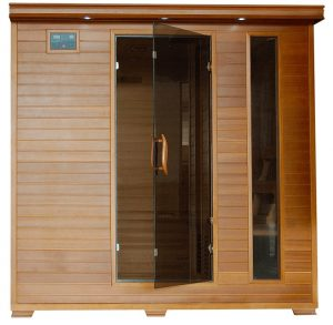 best 6 person Cedar Carbon Infrared Sauna