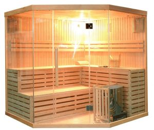 best 6 person Dry Sauna Steam Room for Home Use