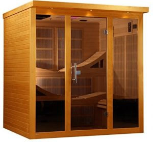 best 6 person No EMF Far Infrared Sauna