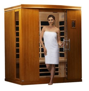 dynamic madrid ii sauna 3 person far infrared sauna