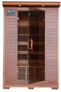 2 person Cedar Infrared Sauna