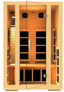 2 person Family Far Infrared Sauna