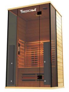 2 person Indoor Carbon Infrared Sauna