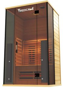 2 person Indoor Infrared Sauna