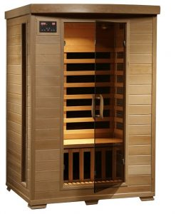 2 person Infrared Sauna vs steam sauna