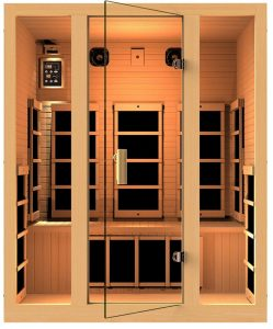 3 person Family Far Infrared Sauna