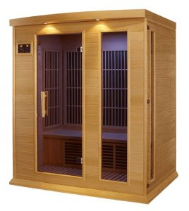 3 person Low EMF Family Sauna