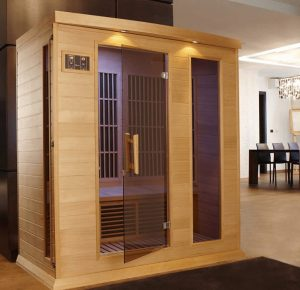 3-person Low EMF Far Infrared Carbon Sauna