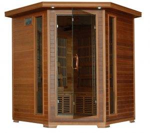 4 person Carbon Corner Infrared Sauna