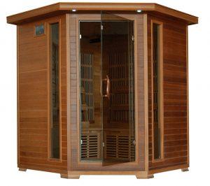4 person Carbon Corner Infrared Sauna
