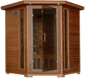 4 person Family Cedar Sauna