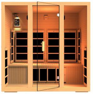4 person far infrared sauna