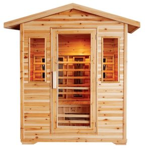 4 person outdoor infrared sauna