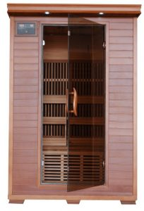 Best 2 person Cedar Infrared Sauna