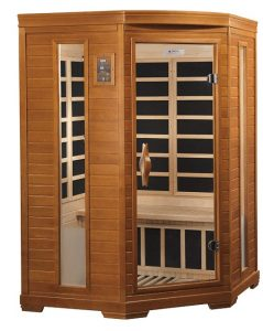Best 2 person Corner Far Infrared Sauna