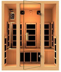 Best 3 person Cheap Far Infrared Sauna