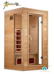 BetterLife 1-2-person Ceramic Infrared Sauna