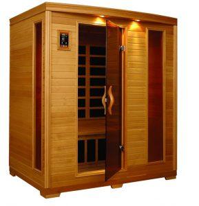 BetterLife 3-person Carbon Infrared Sauna
