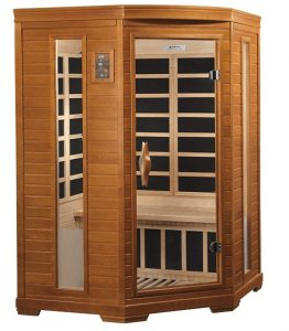 Dynamic 2-person Corner Far Infrared Sauna