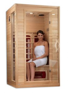 Dynamic 2 person Infrared Ceramic Far Infrared Sauna