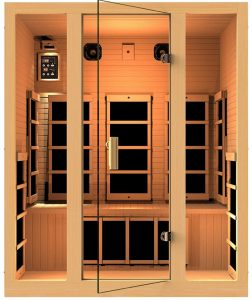 Far Infrared 3 person Dry Sauna