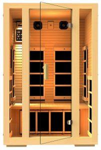 JNH Lifestyles Joyous 2-person Far Infrared Sauna Kit