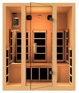 Joyous 3 person infrared sauna