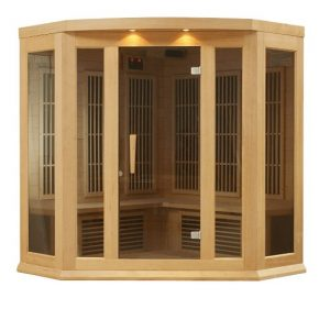 Low EMF Home Infrared Corner Sauna