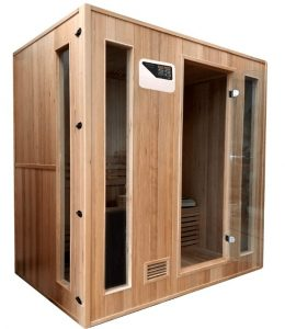 Traditional 4 person Indoor Dry Sauna