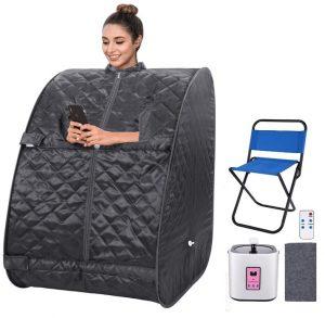 best 1 person portable steam sauna
