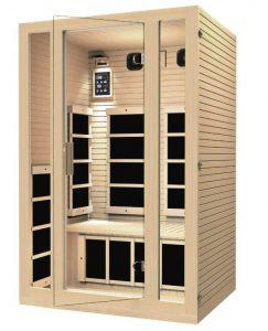 best 1 to 2 person sauna