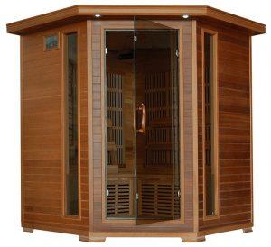 best 4 person Cedar Corner Infrared Sauna