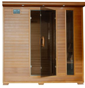 best 6 person Home Cedar Carbon Infrared Sauna