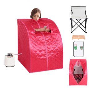 best Mini 1-person Steam Sauna for Home Use