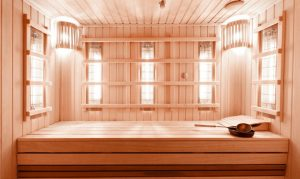 best wood for sauna