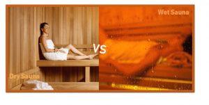 dry sauna vs wet sauna