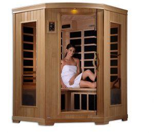 far infrared corner sauna